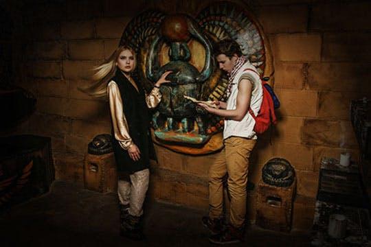 Egyptian Tomb Escape Room Build